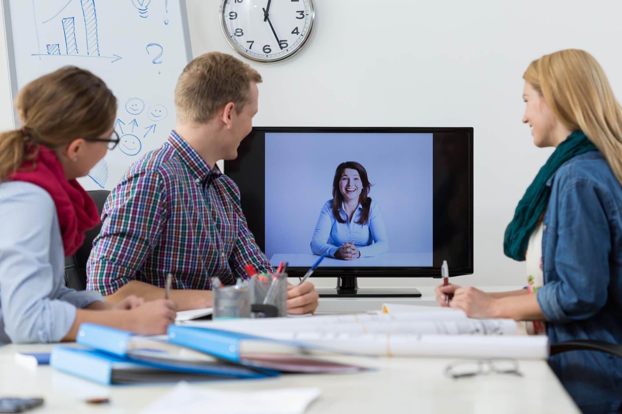 5 razões para optar pela videoconferência como solução