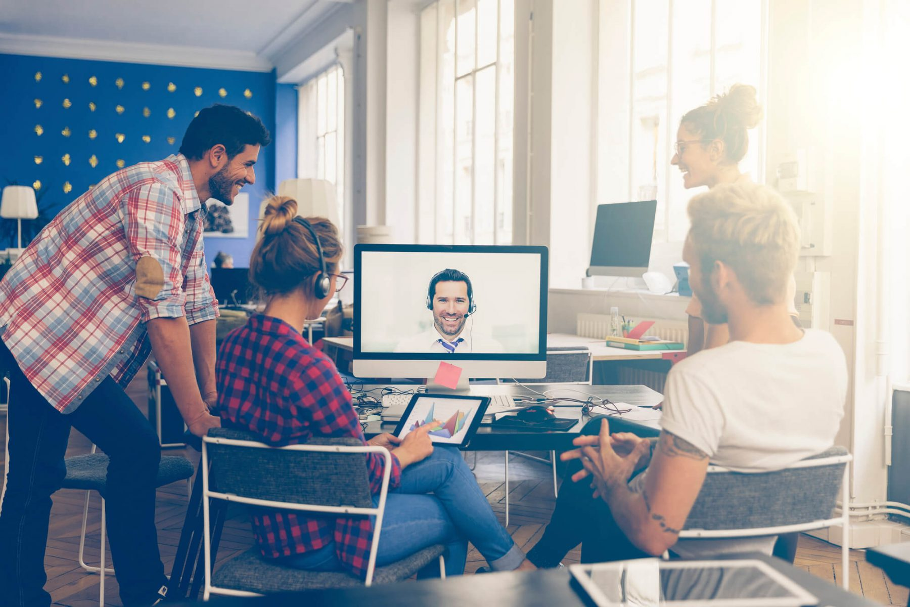 Videoconferência Para o Mercado Financeiro